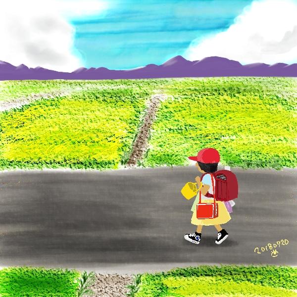 宮崎の景色の一番遠くはいつでもぐるりと山