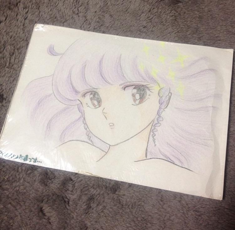小5の誕生日に買ってもらった60色のクーピーで描いた