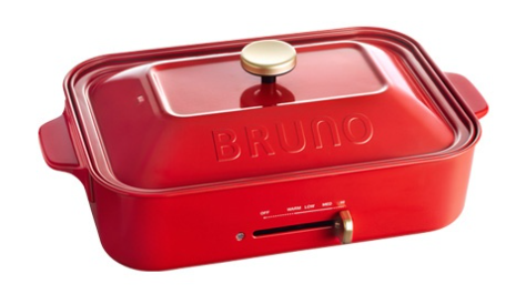 BRUNO(ブルーノ) 定番 コンパクトホットプレート