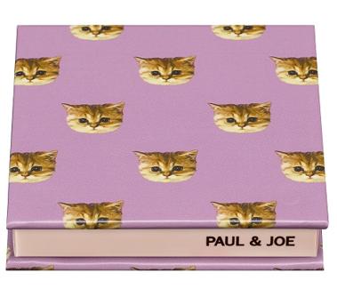 PAUL&JOE パウダーブラッシュ 限定コンパクト 猫柄