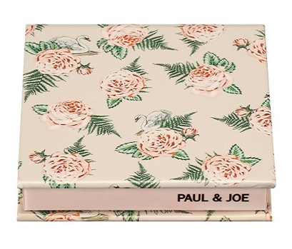 PAUL&JOE パウダーブラッシュ 限定コンパクト 花柄