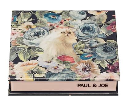PAUL&JOE パウダーブラッシュ 限定コンパクト 猫と花柄