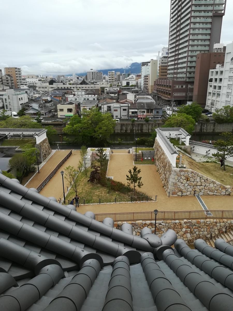 尼崎城 展望フロアからの景色
