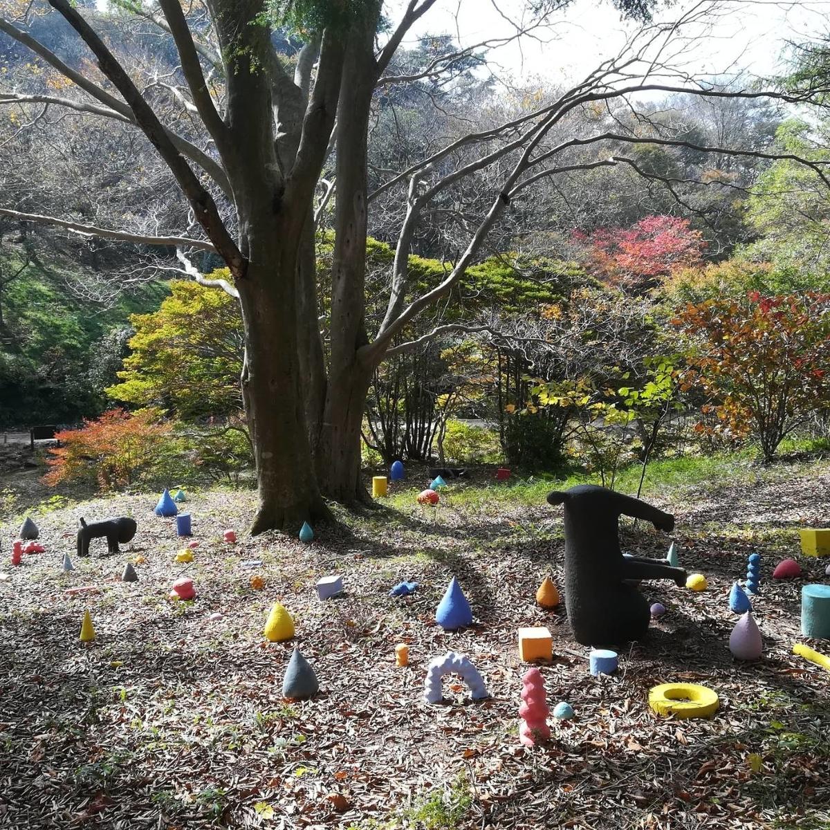 六甲高山植物園 アート作品
