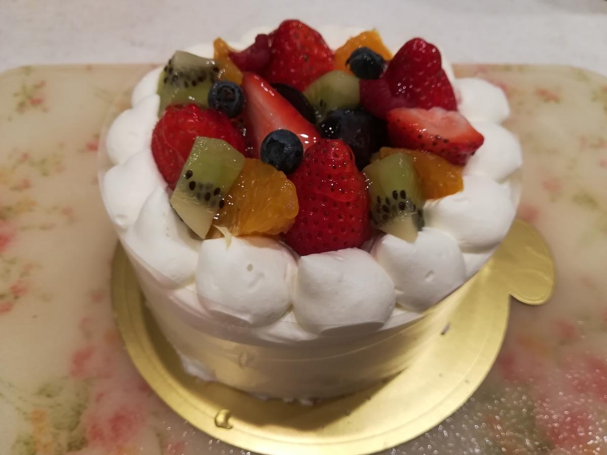 ボルドー デコレーションケーキ