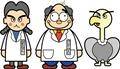 コンド・ラーン博士、ガスクー、カオルちゃん