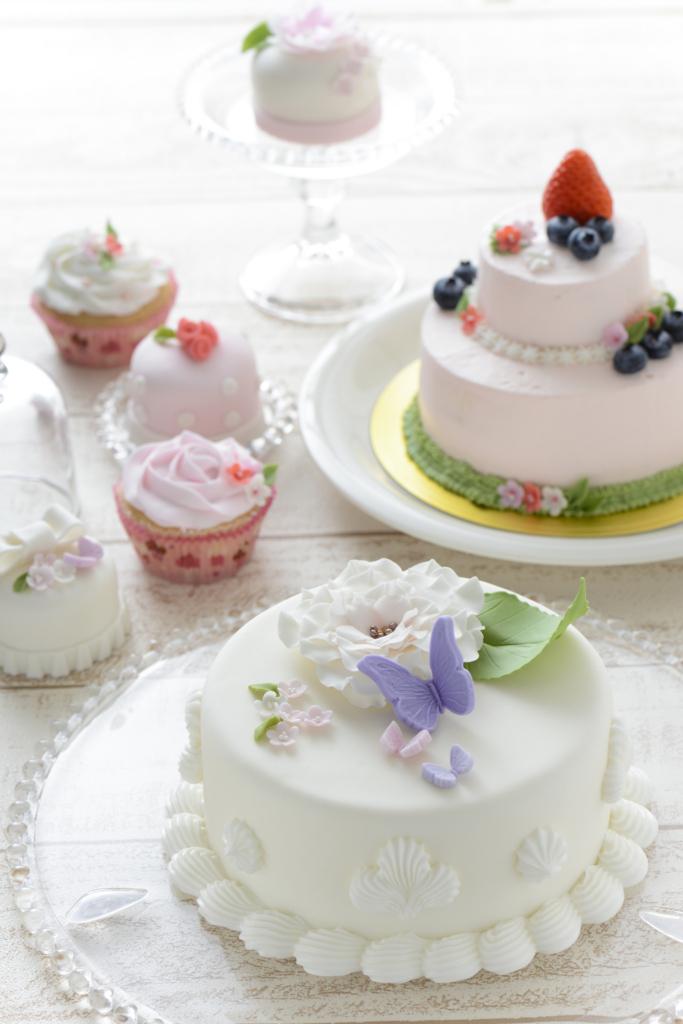 デコレーションケーキ、手作り