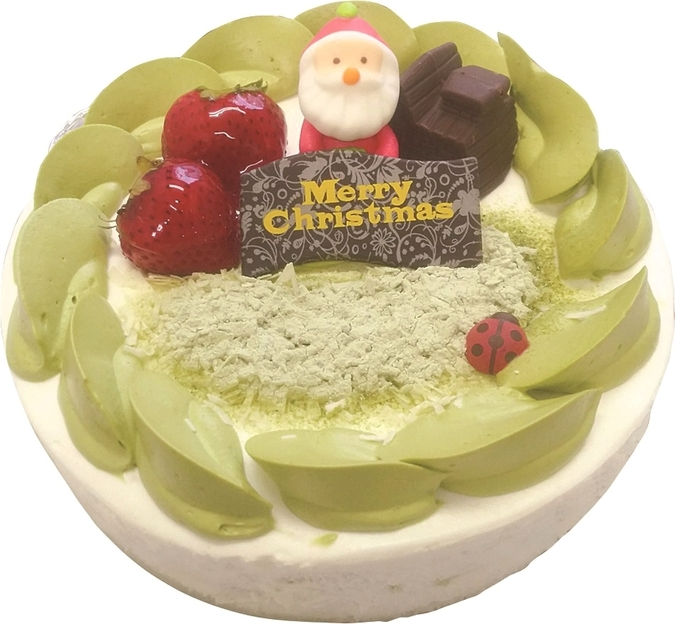 【クリスマス限定】宇治抹茶ケーキ