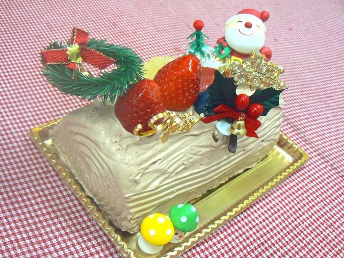 アレルギー対応クリスマスケーキ(ノエル) 17cm