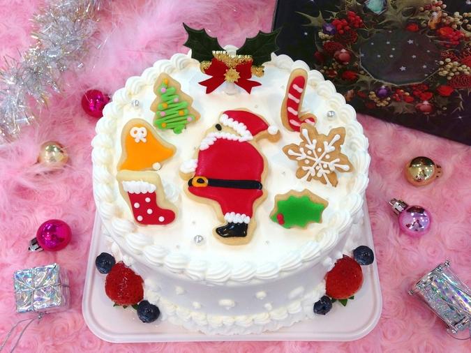【クリスマス限定】クリスマスデコレーション サンタパーティー 15cm