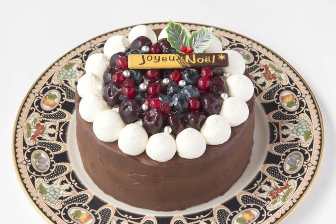 クリスマス限定】ダークチェリーのガナッシュケーキ