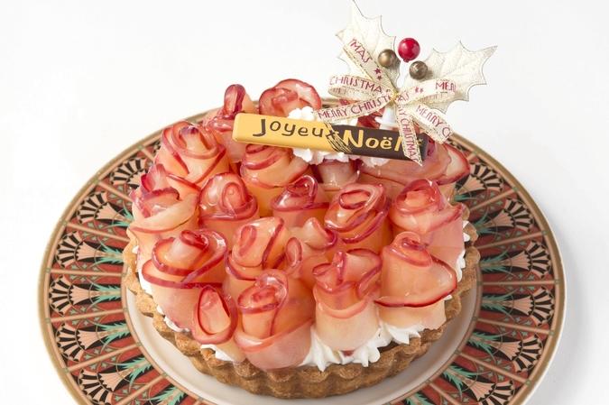 【クリスマス限定】りんごのチーズケーキ