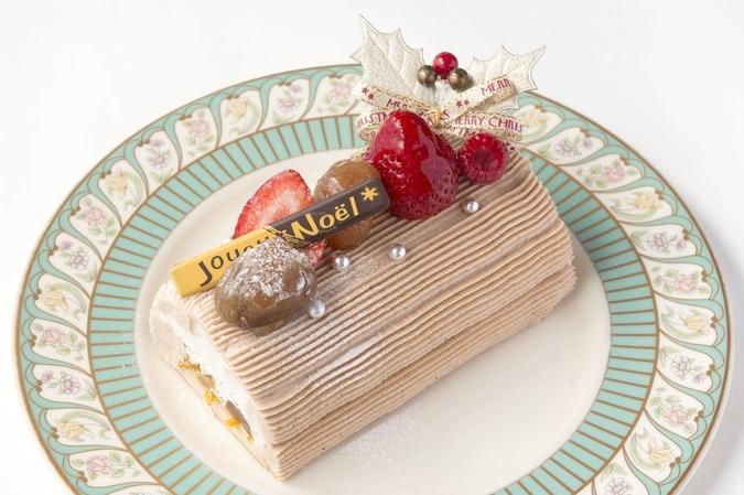 【クリスマス限定】栗のブッシュドノエル 15cm