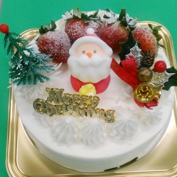 【クリスマス限定】卵・乳製品・小麦粉なしのイチゴのクリスマスケーキ