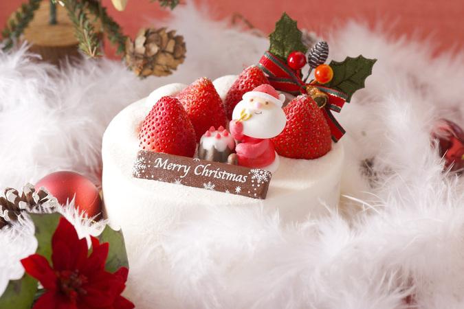 【クリスマス限定】苺の生クリームデコレーションケーキ