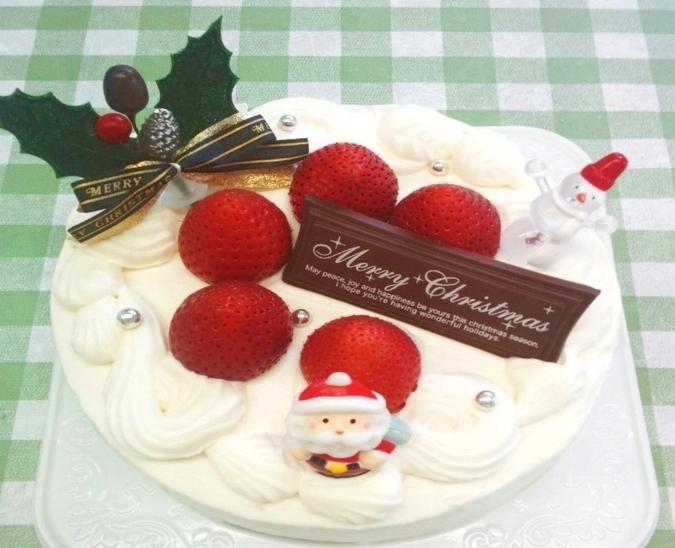 【クリスマス限定】生クリームデコレーション