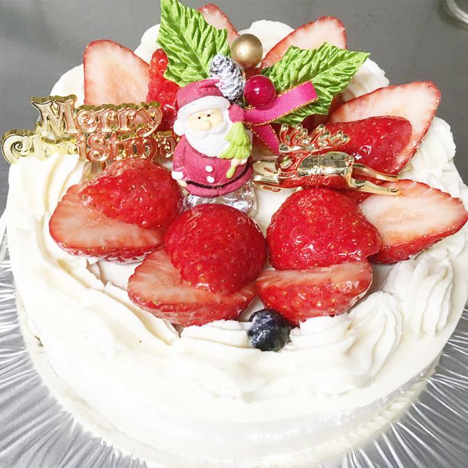 【クリスマス限定】豆乳クリームデコレーションケーキ