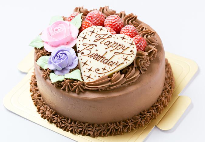 ダブル生チョコケーキ