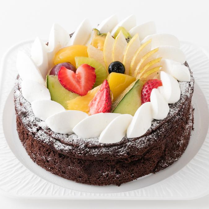 焼きチョコレートケーキ5