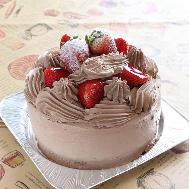 苺の生チョコデコレーション3