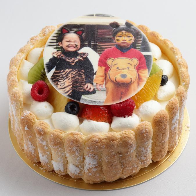 イラストデコレーションケーキ3