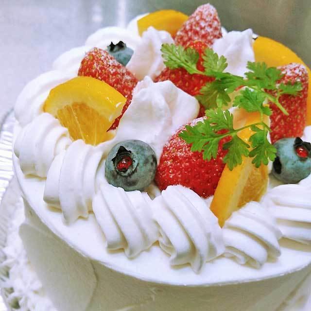 苺の生クリームケーキ8