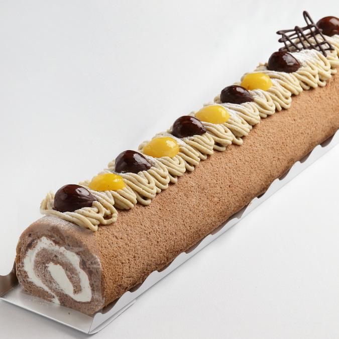 なが~いロールケーキ (モンブラン)5
