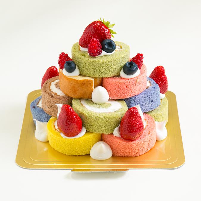 タワーロールケーキ3