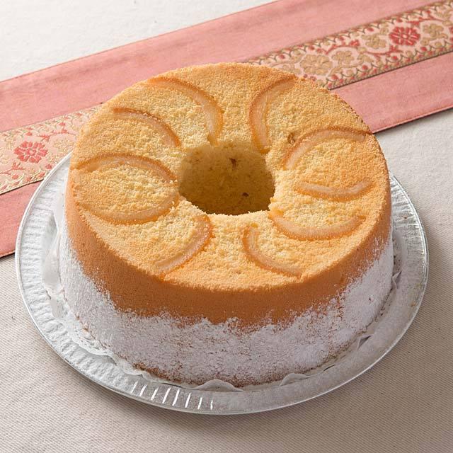 メイプルとビターオレンジのシフォンケーキ5