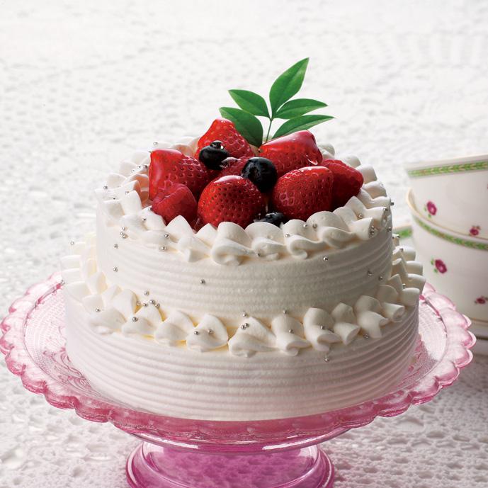 憧れの2段ケーキ!リトルエンジェル