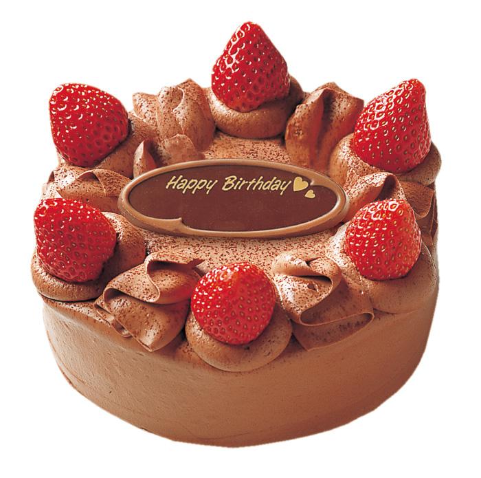 バースデーケーキの定番!生クリームor生チョコレート デコレーションケーキ