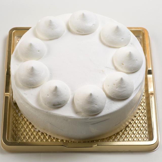 バースデイケーキ生クリーム 飾りなし