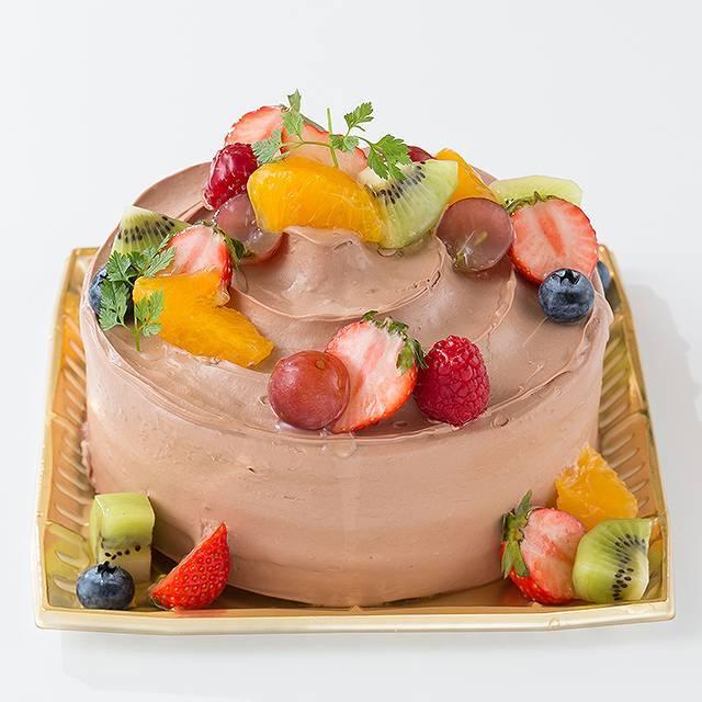 生チョコフルーツ飾り6
