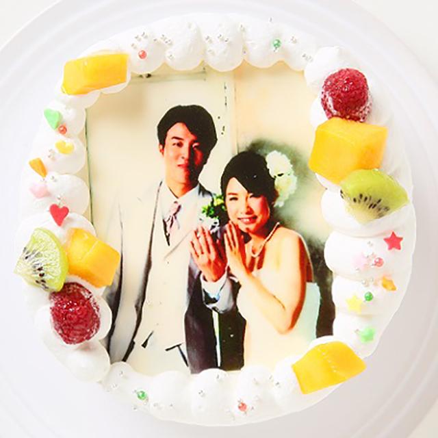 写真(フォト)ケーキ