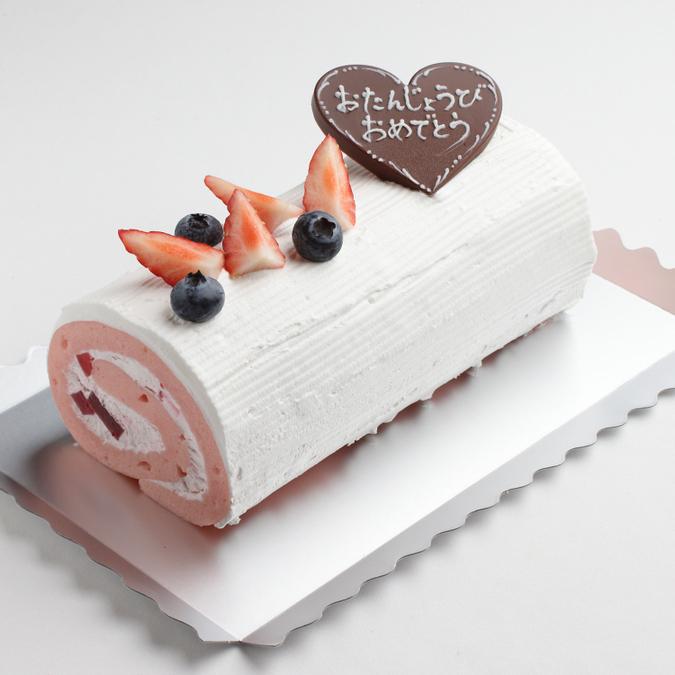 豆乳ストロベリークリームのロールケーキ【17cm】(卵・乳・小麦・ナッツ不使用)3