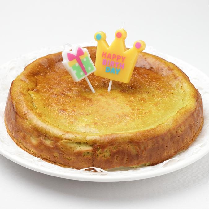 クロレラチーズケーキ