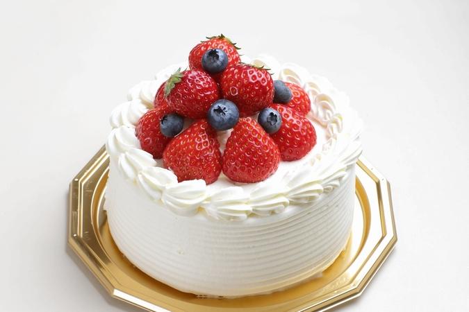 ベリーベリーデコレーションケーキ(生クリーム)