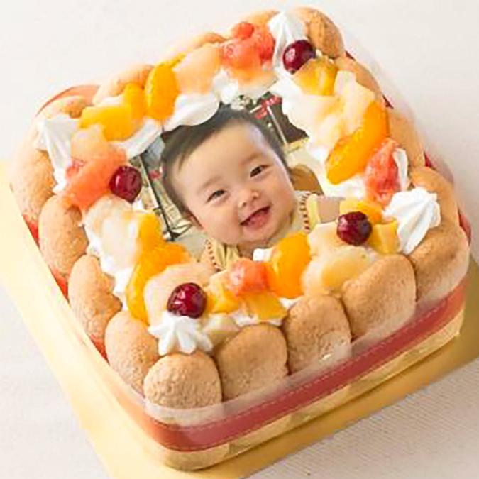 【発売記念チョコプレート付】スイパラ ピクチャーデコレケーキ(ホワイト)