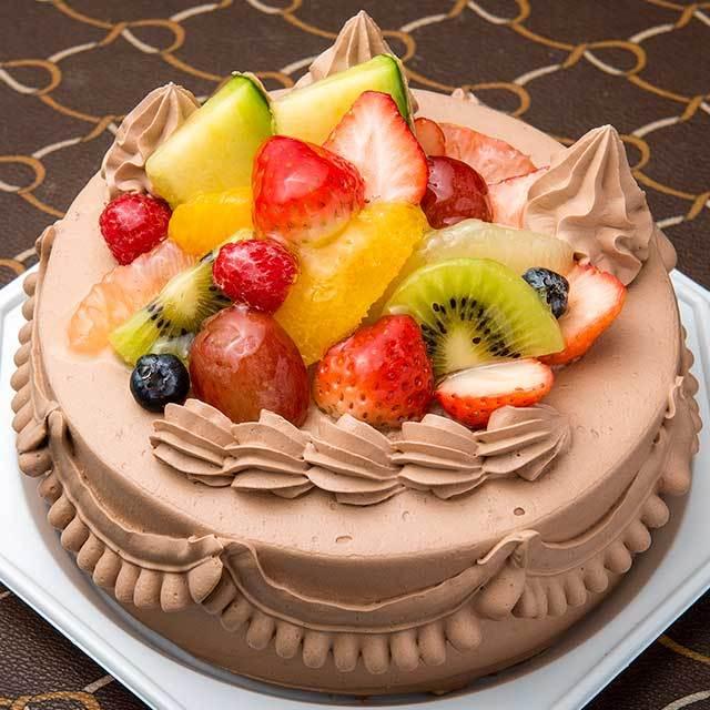 森ケーキ チョコクリーム