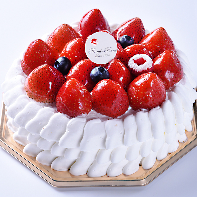 季節の生デコレーションケーキ