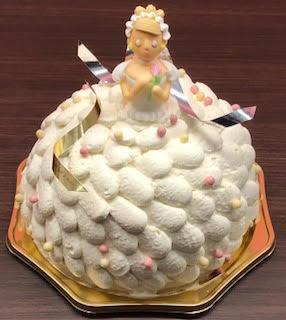 ドレスドールデコレーションケーキ