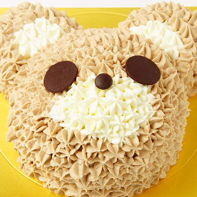 くまさんのデコレーションケーキ
