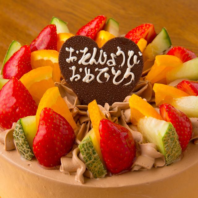 レギュラーホールケーキ(生チョコクリーム)