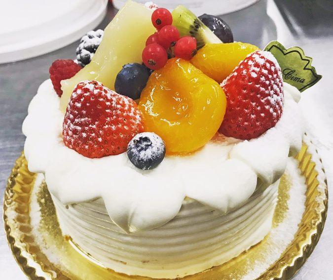 ショートケーキ・ア・ラ・シーマ 白