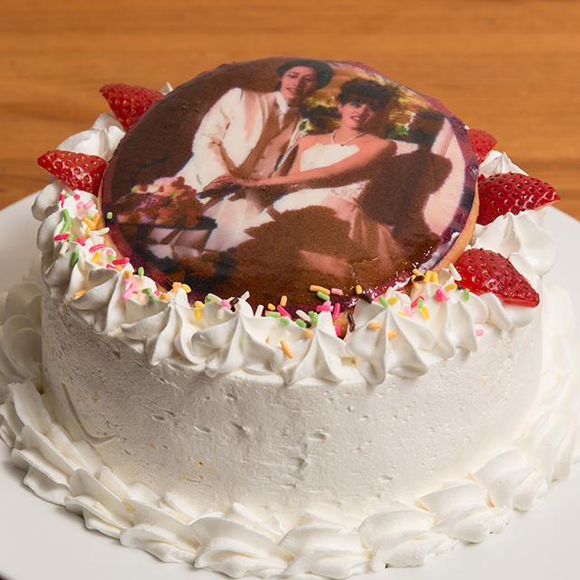 写真ケーキ(プリントケーキ)