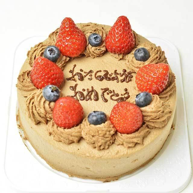 アレルギー(乳製品抜き)対応 チョコデコレーションケーキ