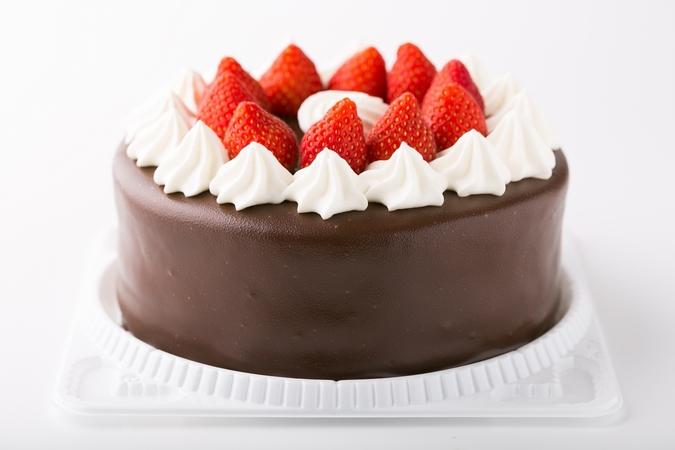 ≪プリントプレート付≫生クリームデコレーション生チョココーティング