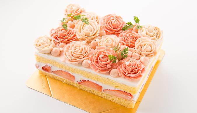 ローズケーキ