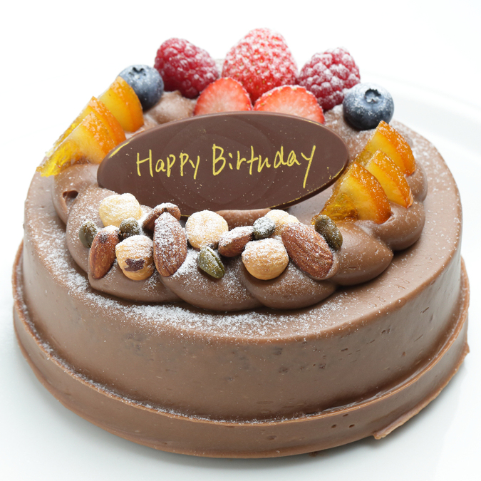 デコレーションケーキ(チョコレート)5