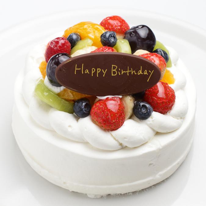 デコレーションケーキ(フルーツいっぱい)4